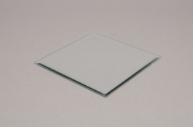 A001MA Candle holder with mirror 15x15cm