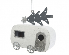 X326KI Snow-covered caravan H10cm