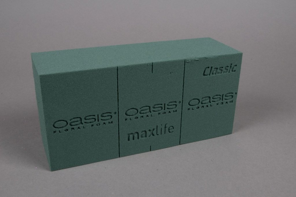 A006QV Carton 20 pains mousse florale Classic