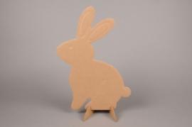 E003BI Carton rabbit H65cm