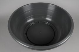 A024H7 Charcoal plastic bowl D60 H22cm