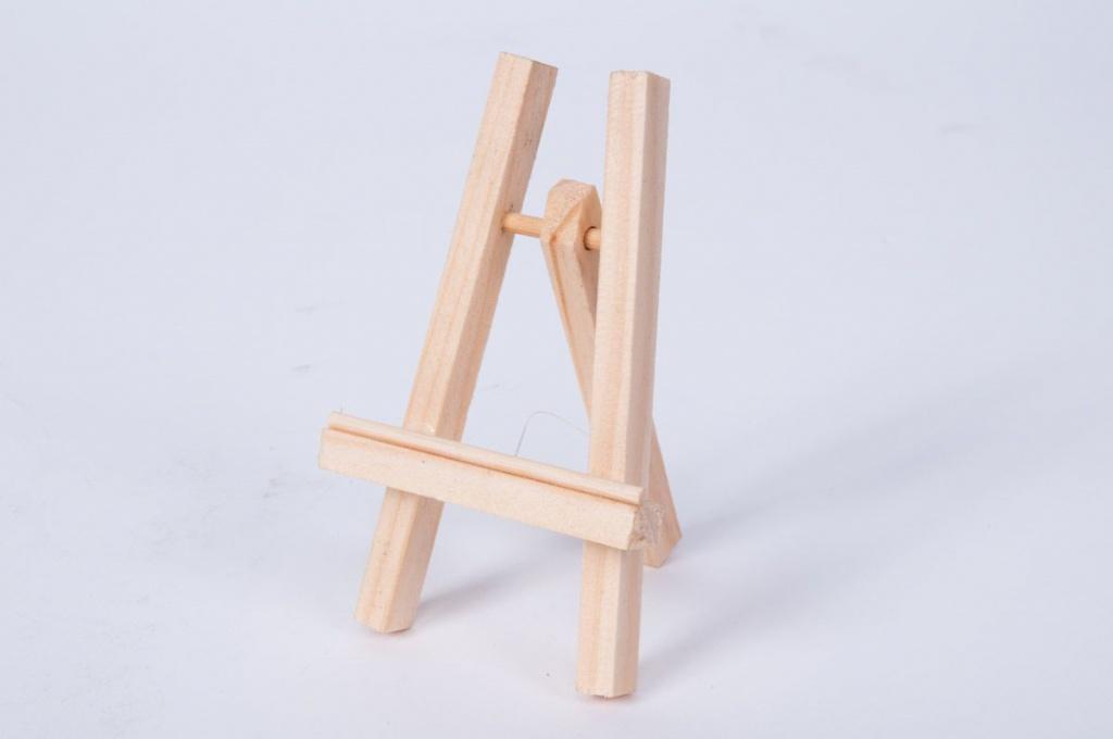Chevalet en bois H10cm