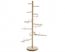 X510KI Christmas tree in natural wood H187cm