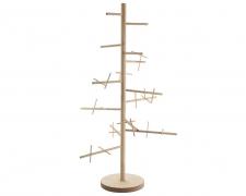X510KI Christmas tree in natural wood H187cm