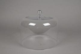 A987W3 Cloche en verre D22cm H20cm
