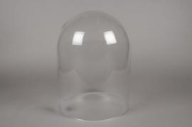 A006BX Cloche en verre D30cm H38cm
