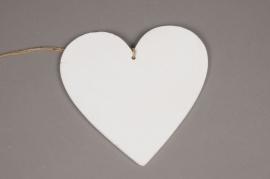 SV03PH Coeur en bois blanc D20cm
