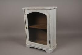 A117HH Commode en bois blanchi H55cm