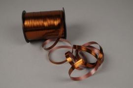 X111ZR Copper bright metal gift ribbon 10mm x 150m