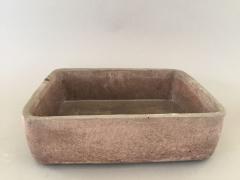 A090TN Coupe en terre cuite béton rose 25 x 19cm H8cm