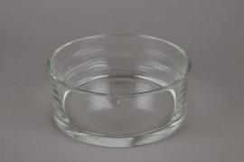 A041I0 Coupe en verre cylindre D19cm H8cm