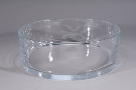 Bowl glass D24,5 H10cm