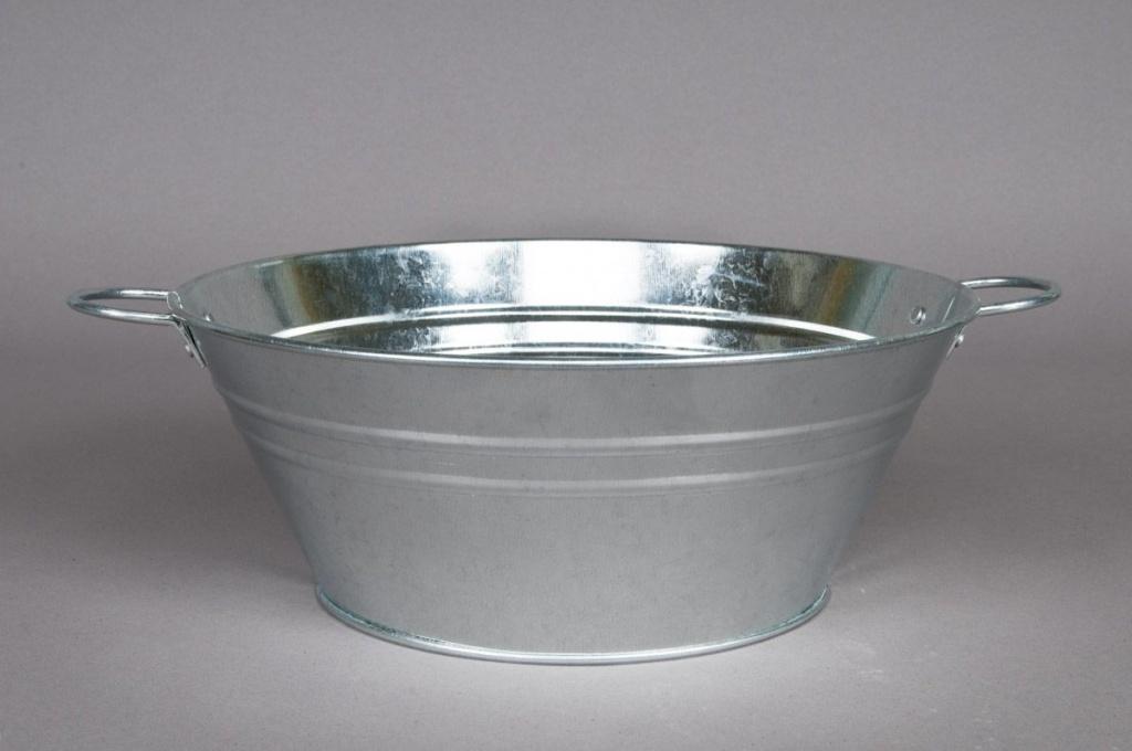 Coupe en zinc D25cm