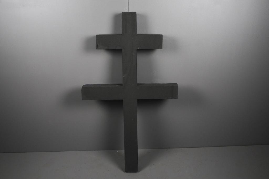 A473QV Croix de Lorraine en mousse 100cm