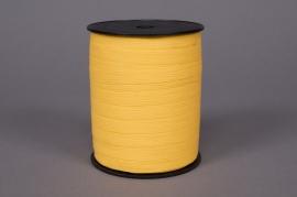 Curling ribbon yellow matte 7mmx500m