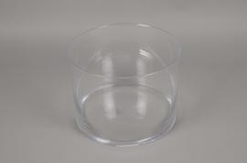 A097PQ Cylinder glass vase D27cm H21cm