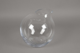 A205IH Design vase glass sphere D29cm H28cm