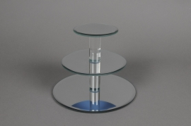 A029Q5 Display Mirror 3 trays D20cm H15.5cm