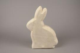E006ZV Wooden rabbit H88cm