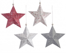 X338KI Paper star assorted D14cm