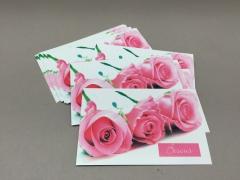 F016MQ Paquet de 15 cartes Bisous