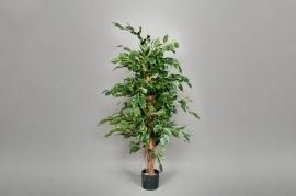 xa68wh Ficus artificiel exotica vert H150cm