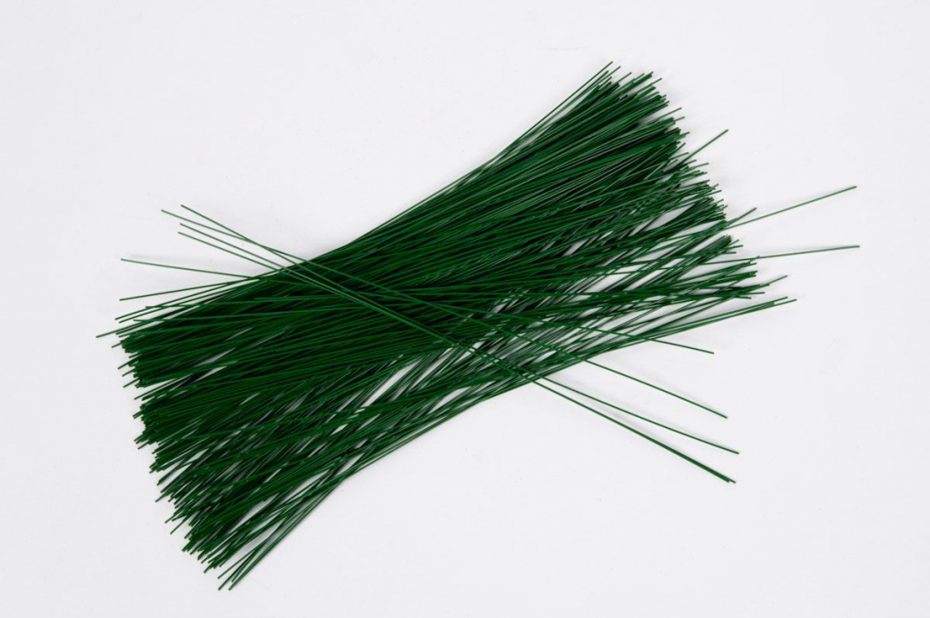 A138MG Floral green stub wire 2 - 20