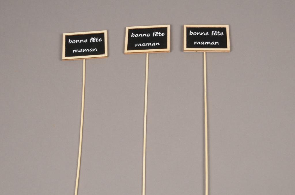 FM02D0 Sachet de 24 pics Bonne fête maman H36cm
