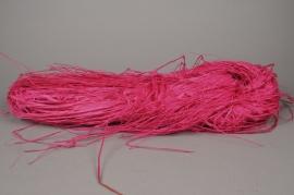 y821ab Fuchsia raffia 300g