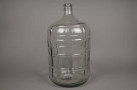 a532uo Glass bottle D28cm H50cm
