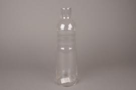 A008R4 Glass bottle D9cm H33cm