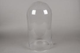 A008BX Glass dome D29cm H56cm