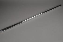 A025K9 Glass vase silver D3cm H100cm