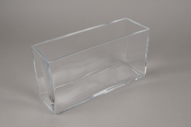 A140I0 Glass window box 30cm x 10cm H15cm