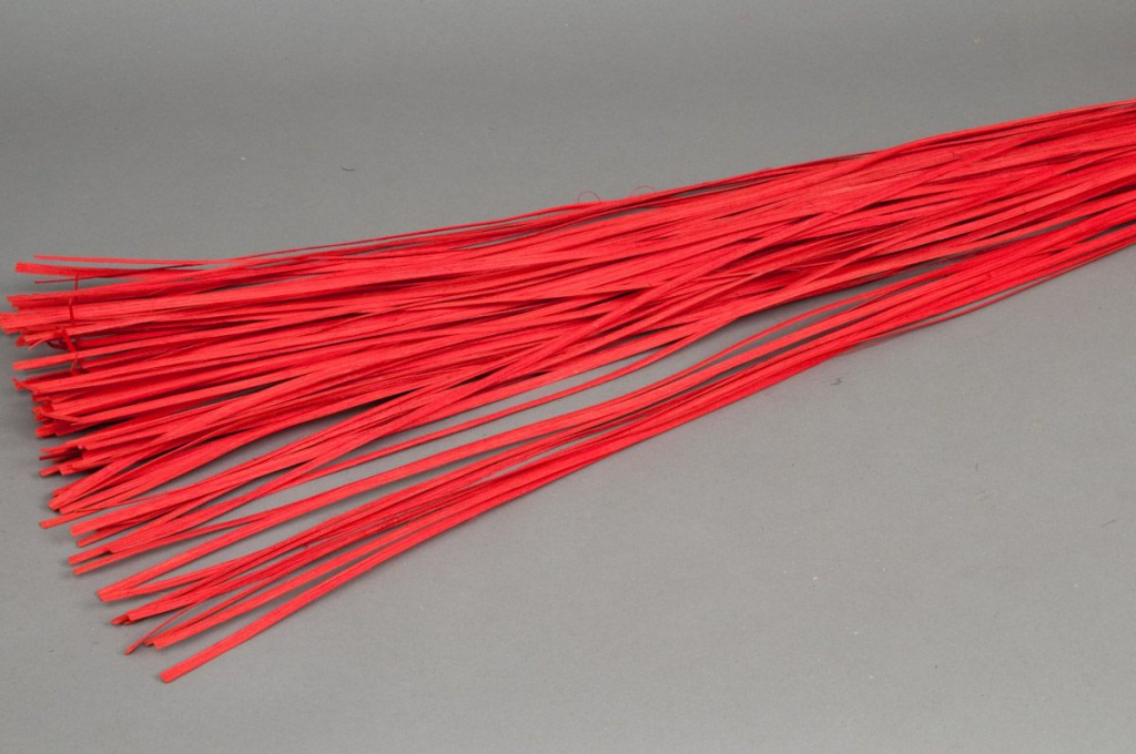 gn21mi Fagot rotin plat rouge 110cm