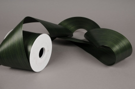 A398ZR Green bereavement ribbon 103mm x 50m