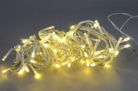 X008S7 Guirlande LED fil transparent blanc chaud extérieur 5m