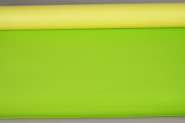 A362QX Kraft paper roll yellow / lignt green 80cm x 50m