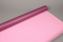 A132QX Kraft roll  purple / pink 80cm x 50m
