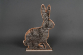 Birch rabbit D31 H46cm