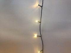 X001J7 LED twinkle light black cable warm white outdoor 54m