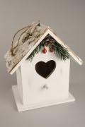 X132RX Maison à oiseau en bois 12x10cm H16cm