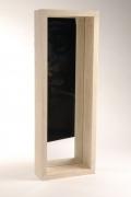 A155RX Miroir en bois naturel L22cm H82cm