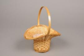MU16WV Wicker basket 18cm x 15cm H21cm
