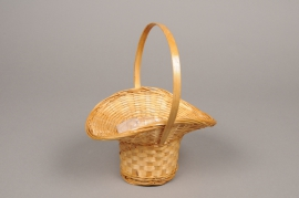 MU16WV Wicker basket 18cm x 15cm H21cm