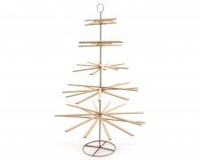 X952KI Nartural wooden Christmas tree H175cm