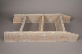A007AO Natural wooden shelf H78cm