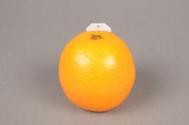 x047ee Orange artificielle D7cm