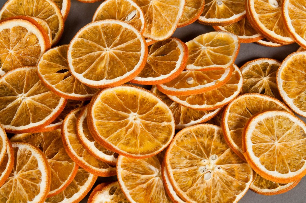 ox03lw Dried orange slices 250g