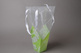 MU26MO Pack of 10 plastic conical bags  24x7cm